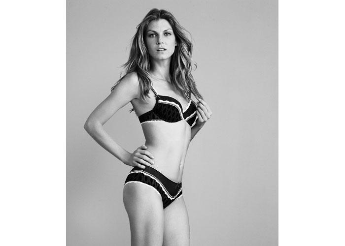 Angela Lindvall for Esprit Bodywear Campaign by Dan Martensen