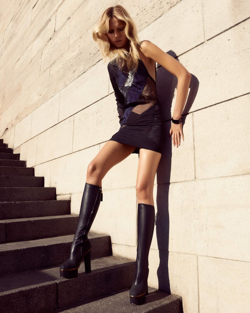 Cato Van Ee by Duy Quoc Vo in Anthony Vaccarello for V Magazine Online