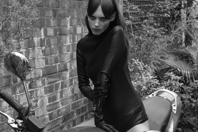 Dovile Virsilaite by Alice Rosati for Forget Them Magazine #1