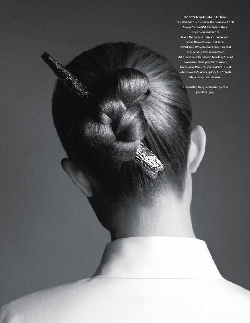 Josephine Skriver by Hasse Nielsen for Bon International F/W 2011