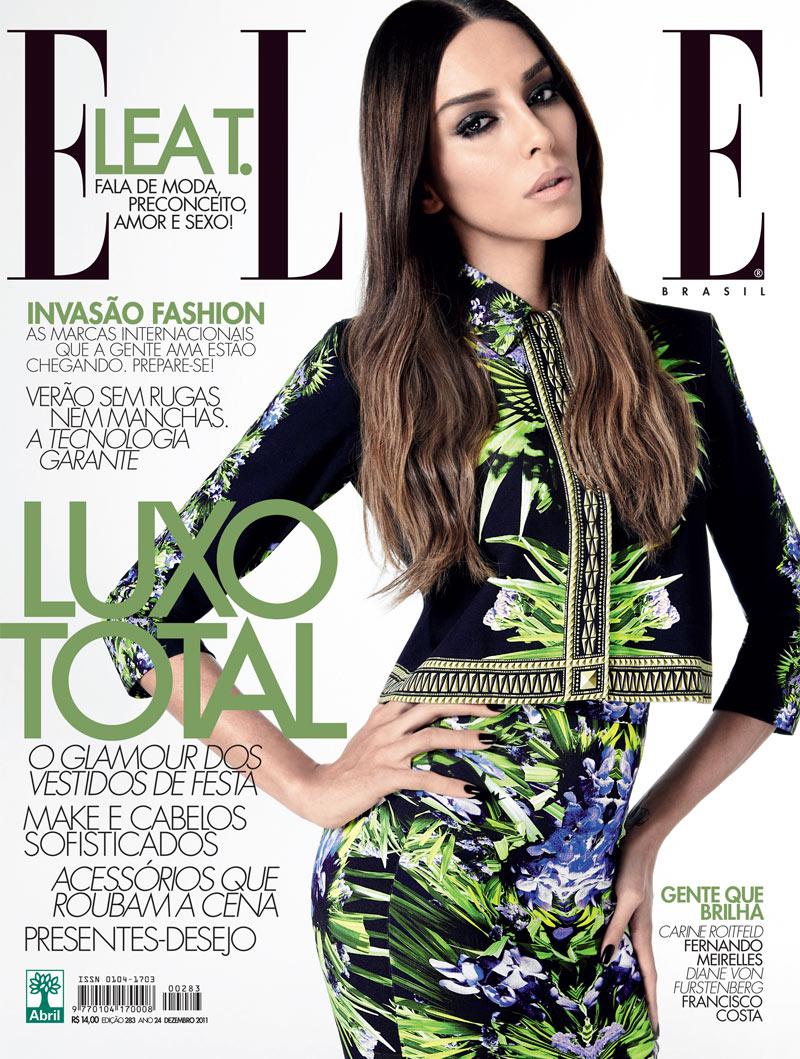 Lea T. Covers Elle Brazil December 2011 + Film