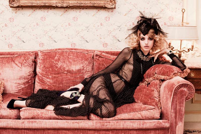 Naomi Preizler by Alexander Neumann for L'Officiel Paris