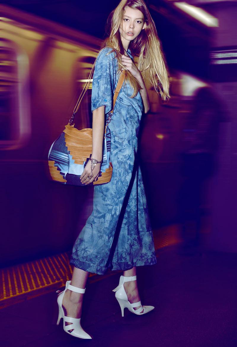 Ondria Hardin by Brad Triffitt for Fashion Gone Rogue