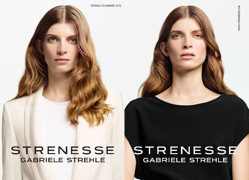 Luca Gadjus for Strenesse Gabriele Strehle Spring 2012 Collection