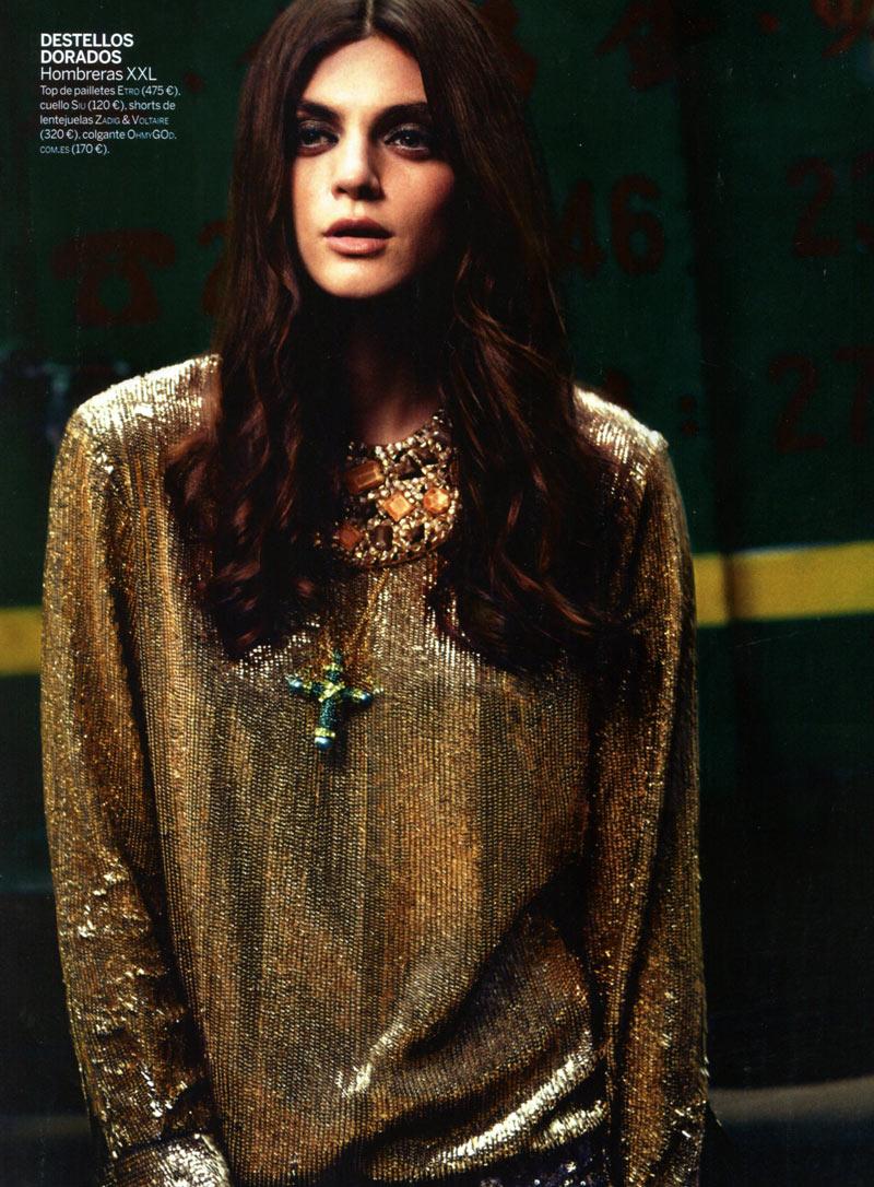 Alexa Corlett by Gregori Civera for Woman Spain