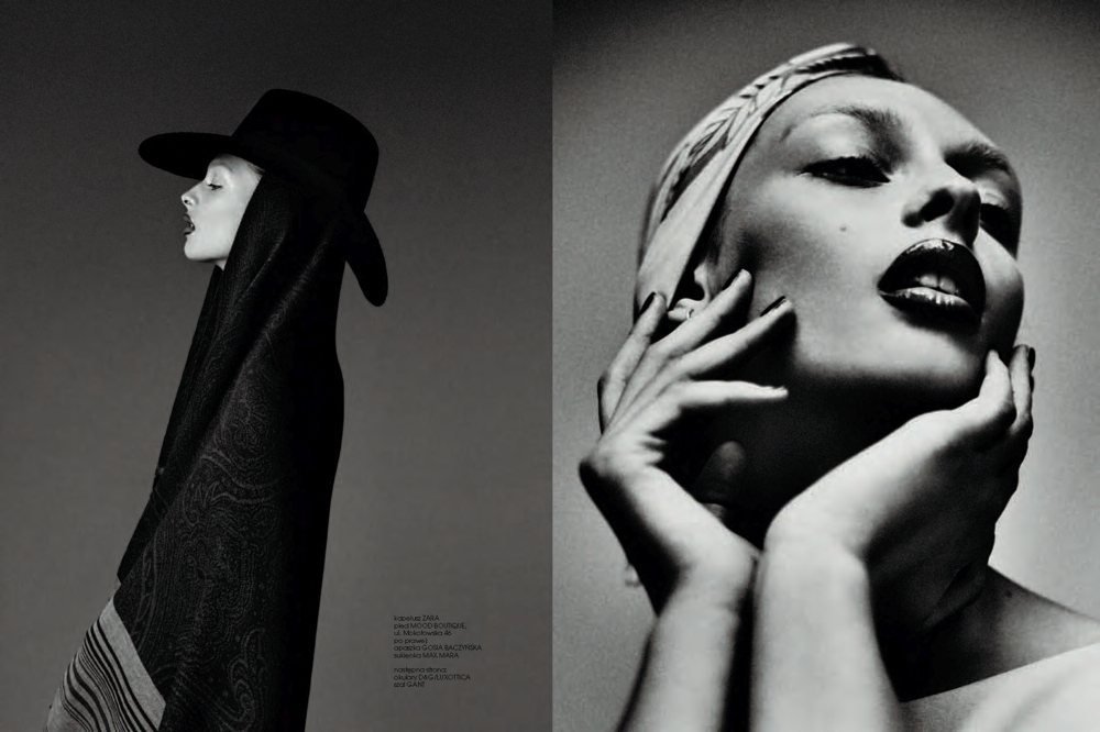 Daga Ziober by Mateusz Stankiewicz for Fashion Poland Winter 2011