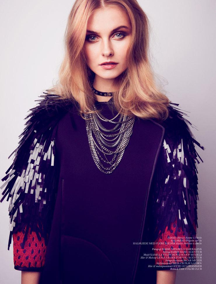Kamila Filipcikova by Hasse Nielsen for Cover Magazine #72
