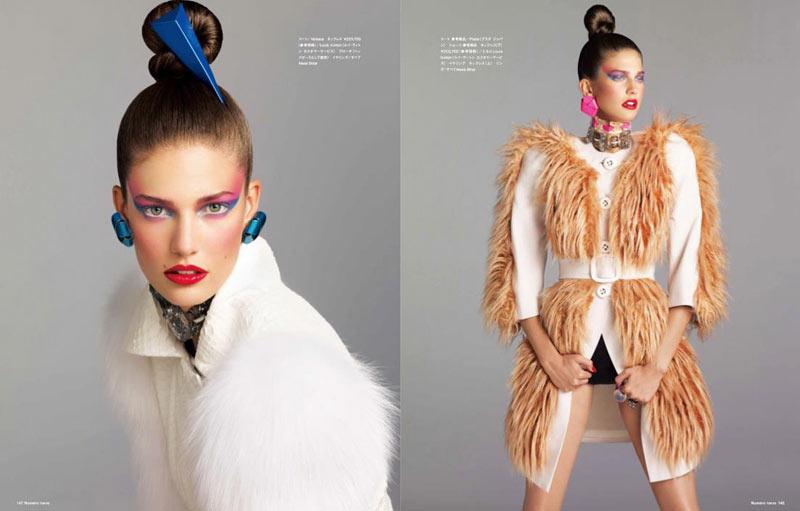 Kendra Spears by Nino Muñoz for Numéro Tokyo