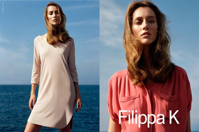 Alana Zimmer for Filippa K Spring 2012 Campaign