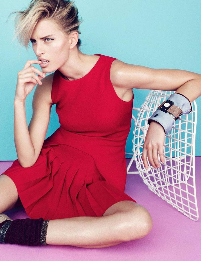 Karolina Kurkova by Nagi Sakai for Elle France