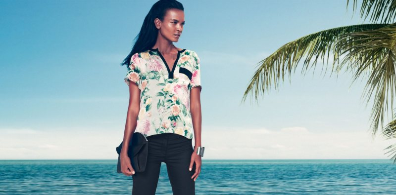 """Liya Kebede for H&M """"Wake Up To Spring"""" Collection"""