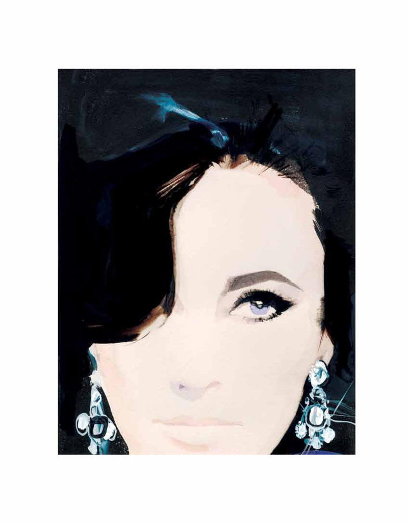 Elizabeth Taylor by David Downton for ROUGE Winter 2011