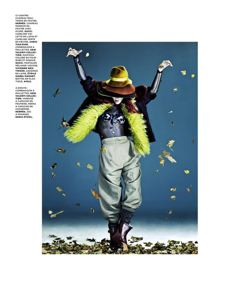 Malgosia Bela by Christian Anwander for M le Monde December 2011