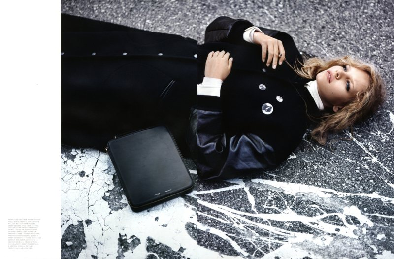 Marloes Horst by Patrik Sehlstedt for Intermission F/W 2011