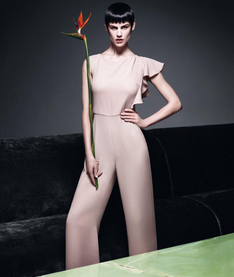 Saskia de Brauw for Max Mara Spring 2012 Campaign by Mario Sorrenti