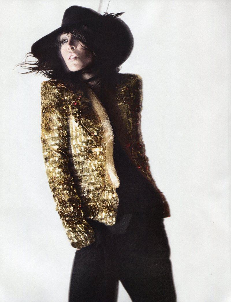 Raquel Zimmermann by David Sims for Vogue Paris