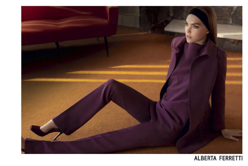 Alberta Ferretti Fall 2011 Campaign | Arizona Muse by Glen Luchford