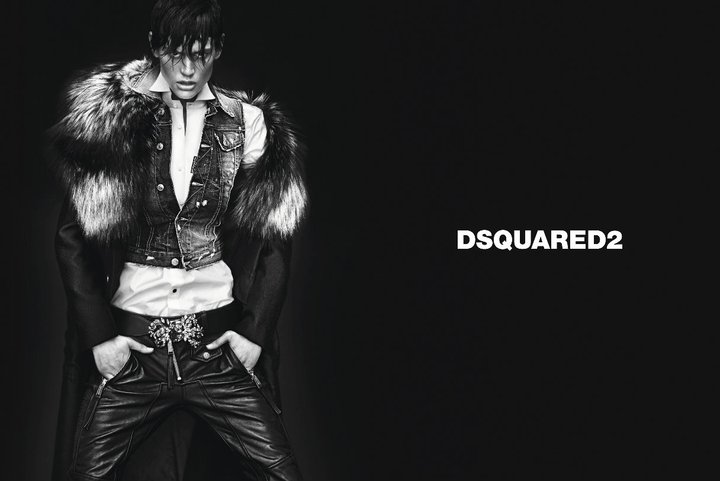 DSquared2 Fall 2011 Campaign   Saskia de Brauw & Emily Baker by Mert & Marcus