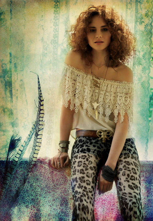 Ashley Smith for Free People's July 2011 Catalogue