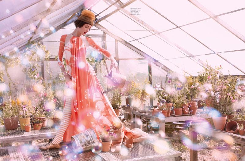 Andressa Fontana by Amanda Pratt for KAREN #12