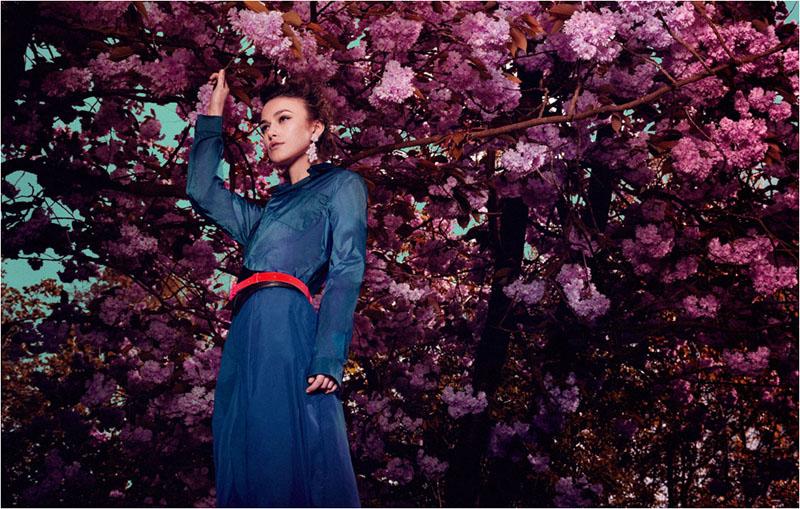 Keira Knightley by Yu Tsai for Flaunt Summer 2011