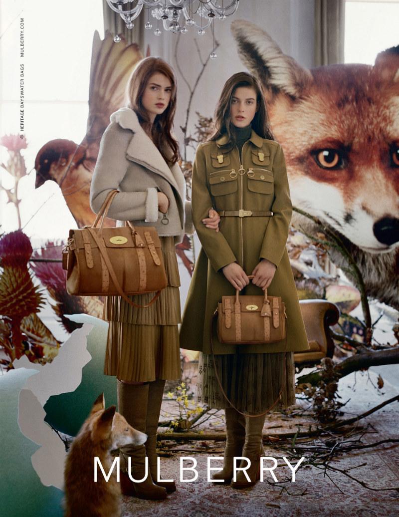 Mulberry Fall 2011 Campaign | Tati Cotliar & Julia Saner by Tim Walker