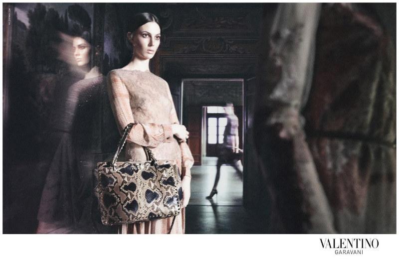 Valentino Fall 2011 Campaign | Jac Jagaciak, Ruby Aldridge, Caroline Brasch Nielsen & Others by David Sims
