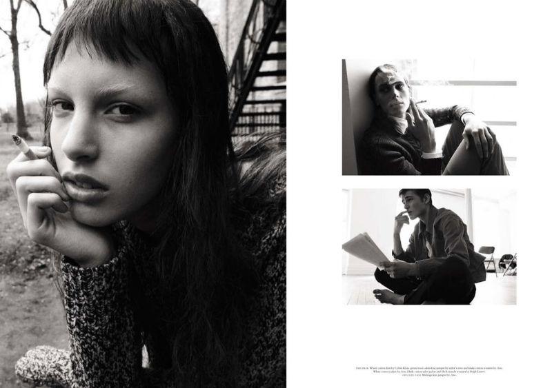 Anais Pouliot, Caroline Brasch Nielsen, Julia Saner & Others by Daniel Jackson for Acne Paper Sweden S/S 2011