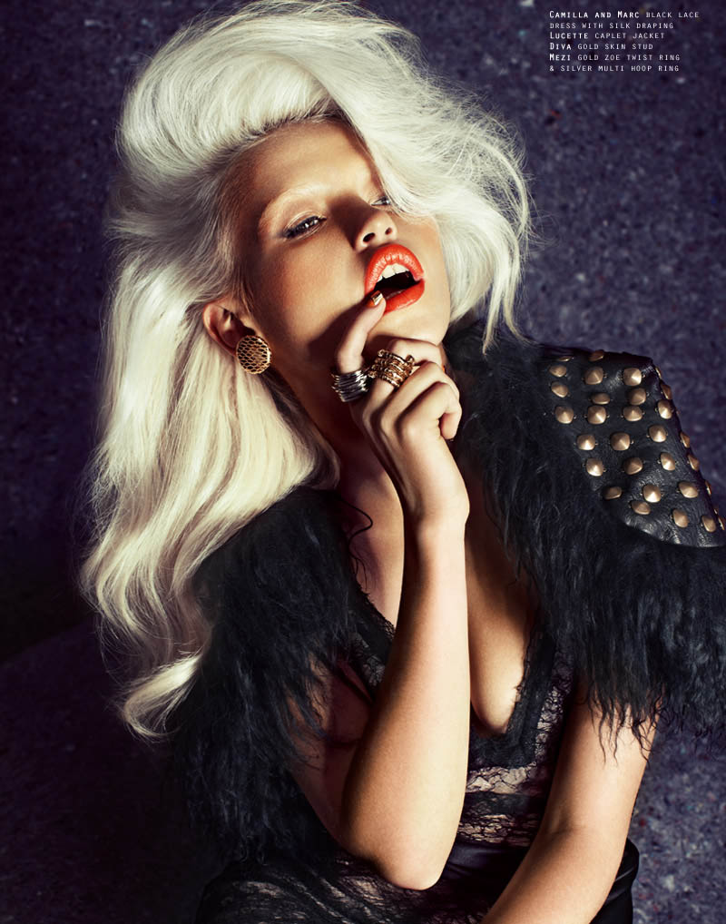 Anja Konstantinova by Steven Chee for Fashion Gone Rogue