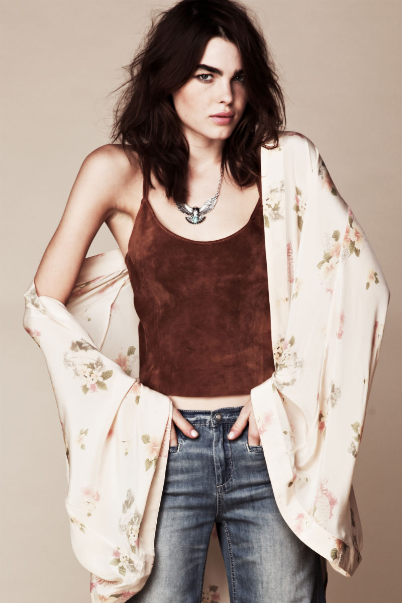 Bambi Northwood-Blyth for Free People July 2011 Lookbook