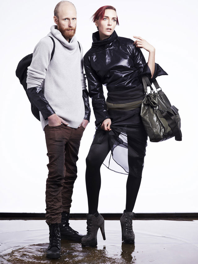 Hannelore Knuts for Cheap Monday Fall 2011 Lookbook