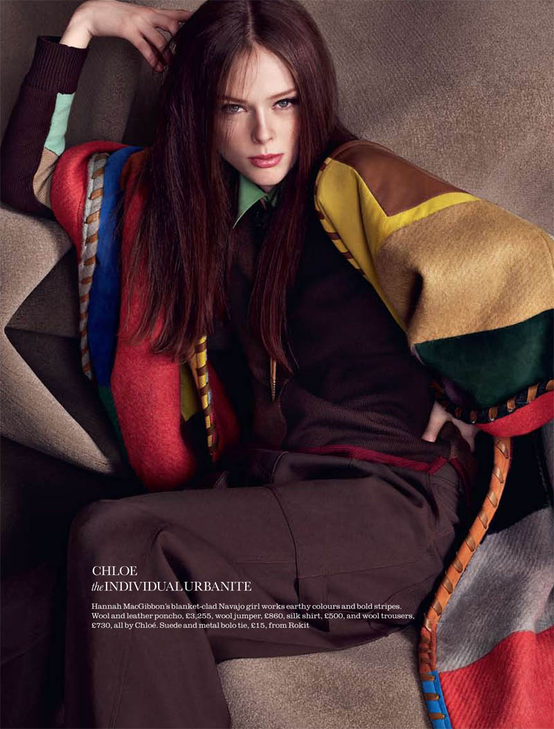 Coco Rocha by Matthias Vriens-McGrath for Elle UK August 2011