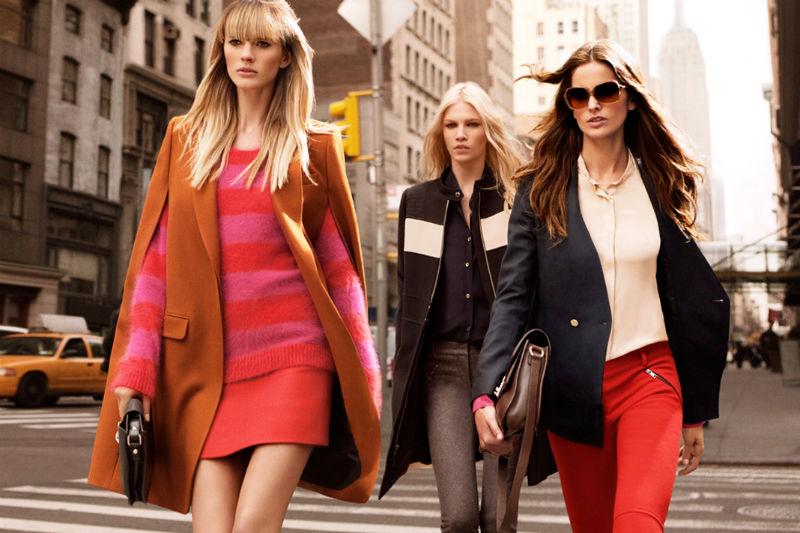 DKNY Fall 2011 Campaign | Anne Vyalitsyna, Izabel Goulart & Aline Weber by Inez & Vinoodh