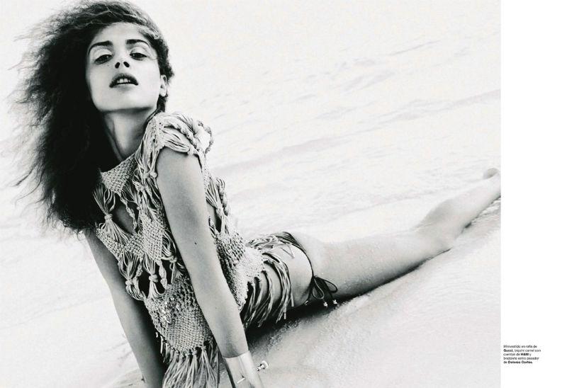 Elisa Sednaoui by Nico for Harper's Bazaar Spain July/August 2011