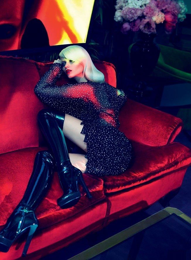 Gucci Fall 2011 Campaign   Abbey Lee Kershaw, Joan Smalls, Emily Baker & Sigrid Agren by Mert & Marcus
