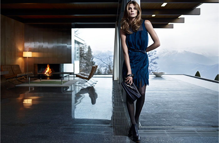 Hugo Boss Fall 2011 Campaign | Daria Werbowy by Mario Sorrenti