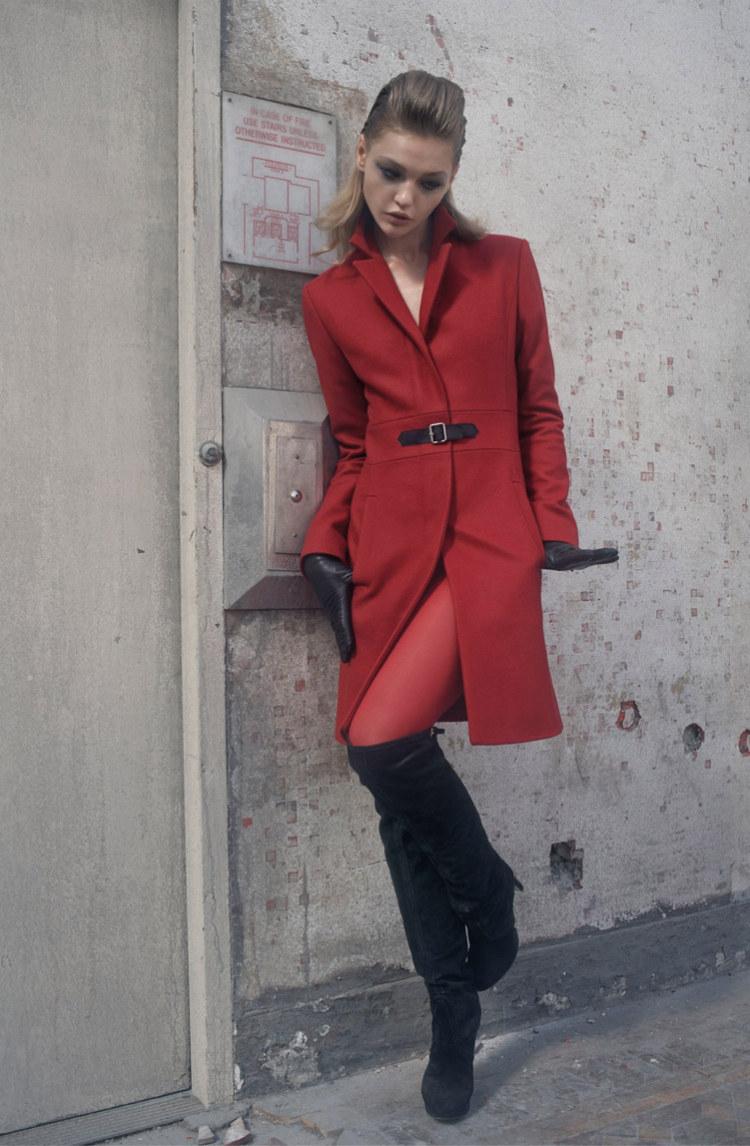 Sasha Pivovarova for Hugo by Hugo Boss Fall 2011 Campaign