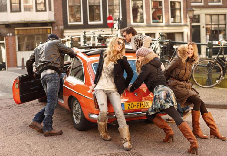 Eniko Mihalik, Lily Donaldson & Dree Hemingway for Hugo Boss Orange Fall 2011 Campaign