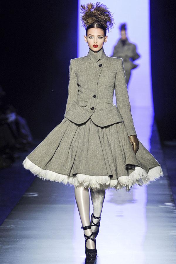 Jean Paul Gaultier Fall 2011 Couture   Paris Haute Couture