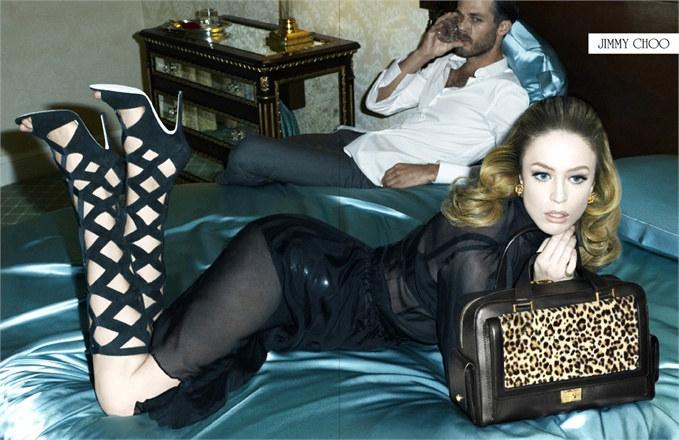 Raquel Zimmermann for Jimmy Choo Fall 2011 Campaign by Steven Meisel