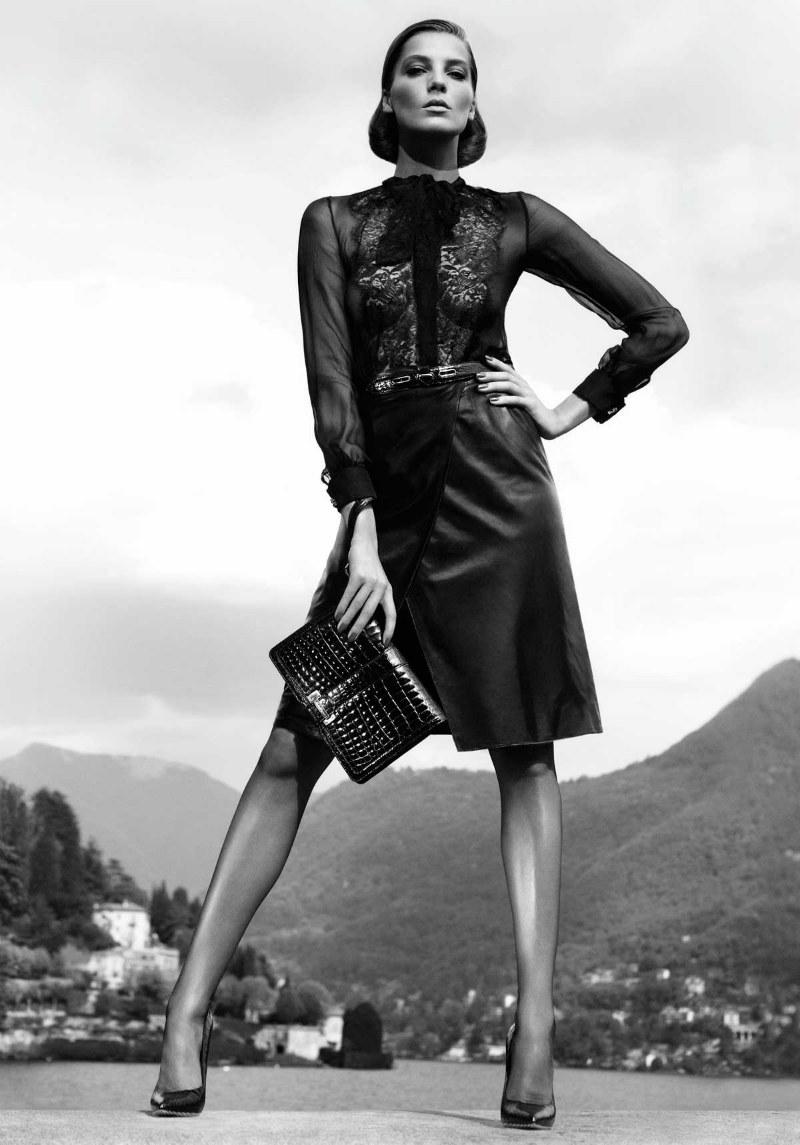 Salvatore Ferragamo Fall 2011 Campaign | Daria Werbowy by Mikael Jansson