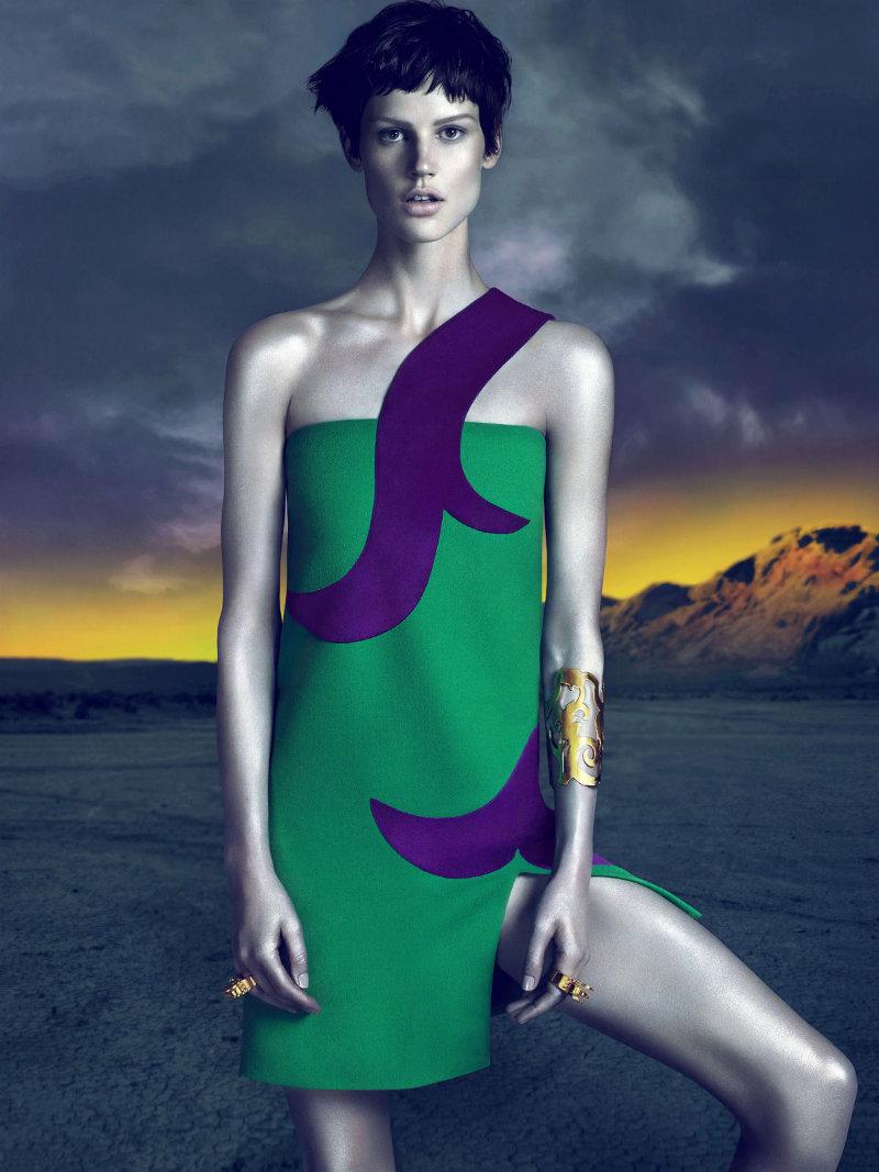 Versace Fall 2011 Campaign |  Saskia de Brauw by Mert & Marcus