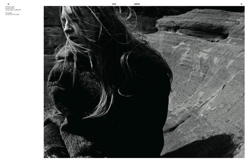 Daga Ziober by Kacper Kasprzyk for Dazed & Confused August 2011