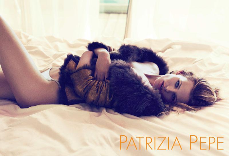 Edita Vilkeviciute for Patrizia Pepe Fall 2011 Campaign by Mert & Marcus