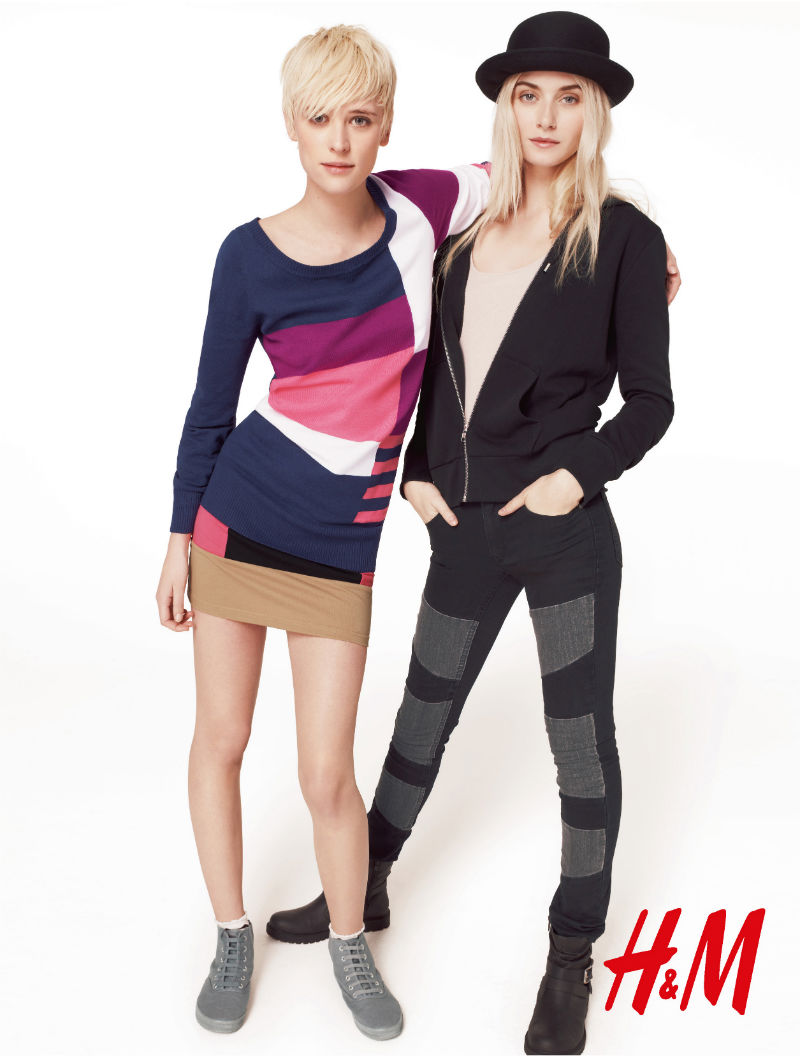 H&M Divided Fall 2011 Campaign | Tati Cotliar, Milou Van Groesen & Kori Richardson by Richard Bush