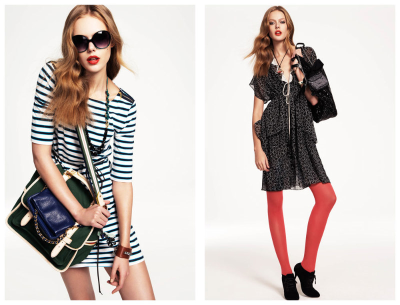 Frida Gustavsson & Shannan Click for Juicy Couture Fall 2011 Lookbook