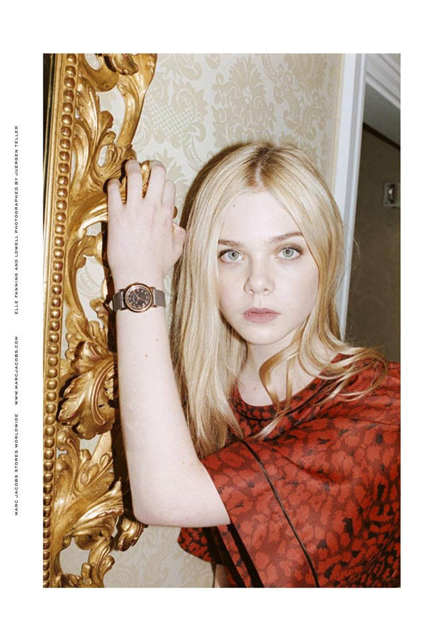 Marc by Marc Jacobs Fall 2011 Campaign    Elle Fanning by Juergen Teller