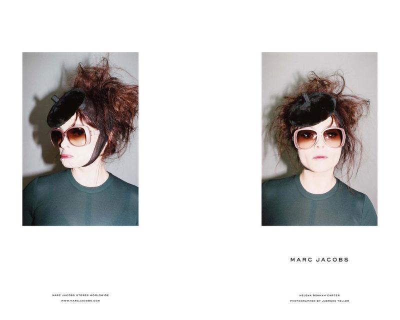 Marc Jacobs Fall 2011 Campaign | Helena Bonham Carter by Juergen Teller
