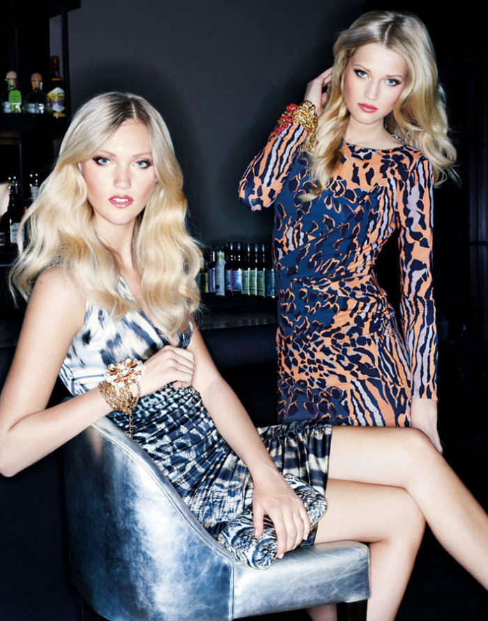 Toni Garrn & Maja Mayskär for Unger Fashion Winter 2011 Campaign by Dirk Messner