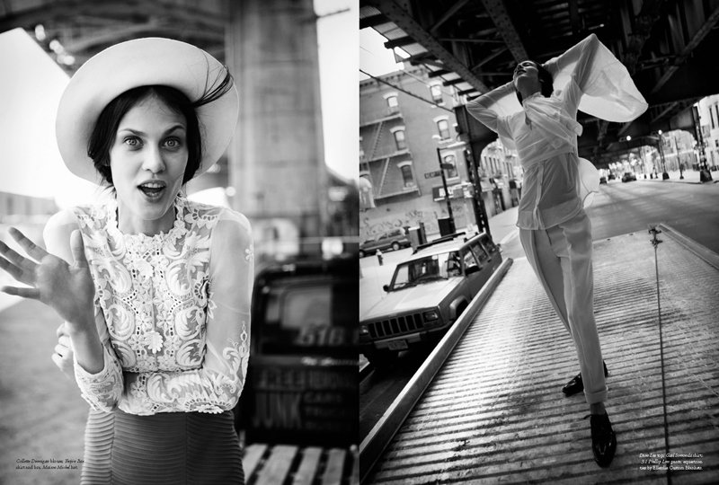Aymeline Valade by Will Davidson for Russh #41